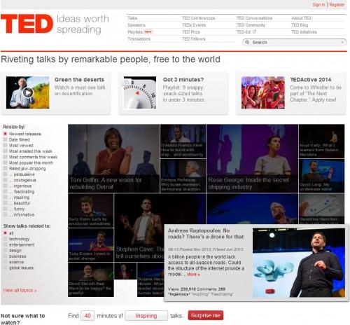 TED オンラインデート